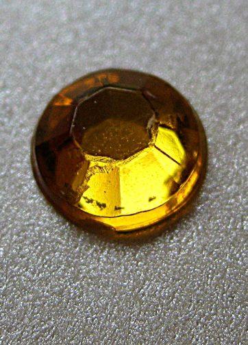 zamówienia hurtowe Cyrkonie okrągłe 6 mm (złoty) - 100 szt.