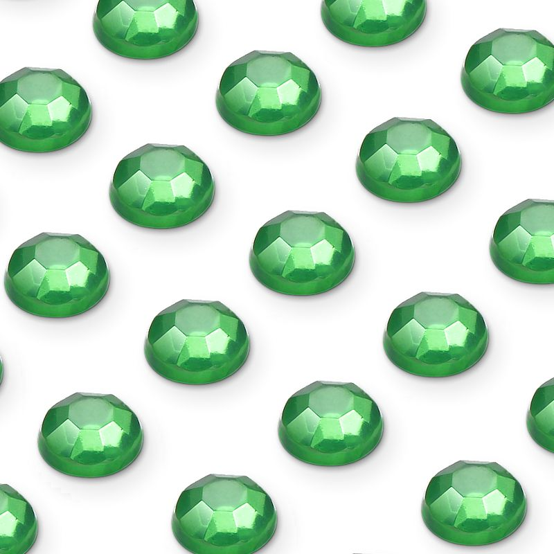 zamówienia hurtowe Cyrkonie okrągłe 3 mm (zielony) - 176 szt.