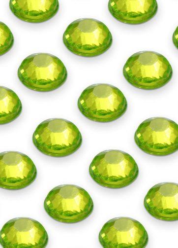 zamówienia hurtowe Cyrkonie okrągłe 4 mm (zielony) - 176 szt.