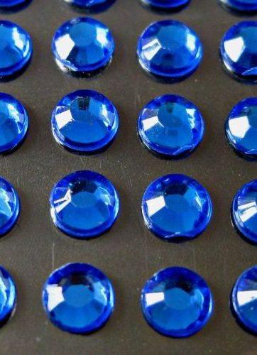 zamówienia hurtowe Cyrkonie okrągłe 4 mm (niebieski) - 176 szt.