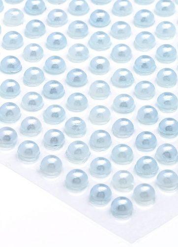 zamówienia hurtowe Półperełki okrągłe 5 mm (błękitny) - 100 szt.