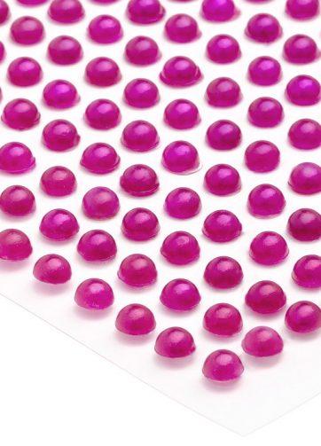 zamówienia hurtowe Półperełki okrągłe 2 mm (różowy ciemny) - 176 szt.