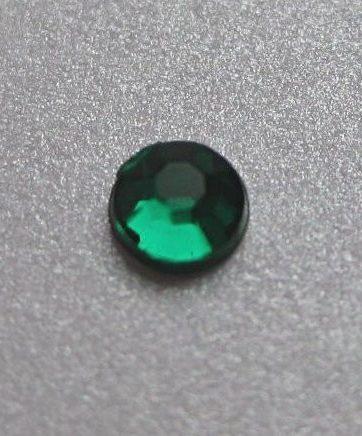 zamówienia hurtowe Cyrkonie okrągłe 2 mm (zielony) - 176 szt.