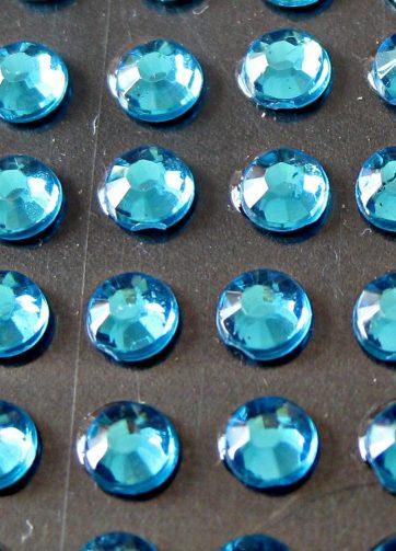 zamówienia hurtowe Cyrkonie okrągłe 2 mm (błękitny) - 176 szt.