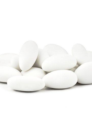 zamówienia hurtowe Migdały w lukrze 1 kg (białe) - 260 szt.