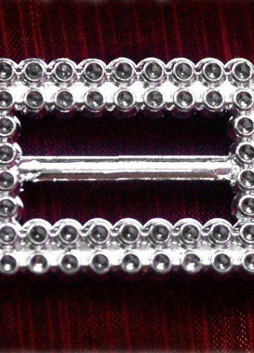 zamówienia hurtowe 400 szt. Klamra ozdobna (srebrna) BUC3.20