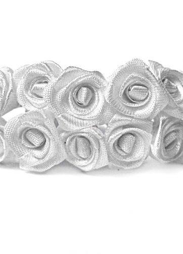 zamówienia hurtowe Róże satynowe (białe) - 36 szt.