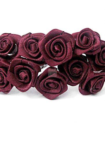 zamówienia hurtowe Róże satynowe (bordowe) - 36 szt.
