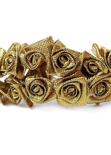 zamówienia hurtowe Róże satynowe (złote) - 36 szt.