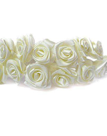 zamówienia hurtowe Róże satynowe (ecru) - 36 szt.