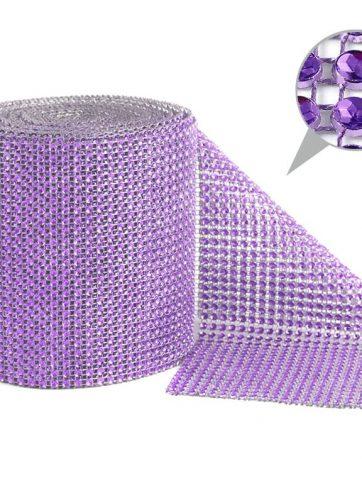 zamówienia hurtowe Taśma dekoracyjna 12 cm x 9m (fioletowa jasna) - 1 szt.