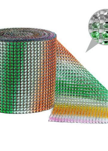 zamówienia hurtowe Taśma dekoracyjna 12 cm x 9m (mix kolorów) - 1 szt.