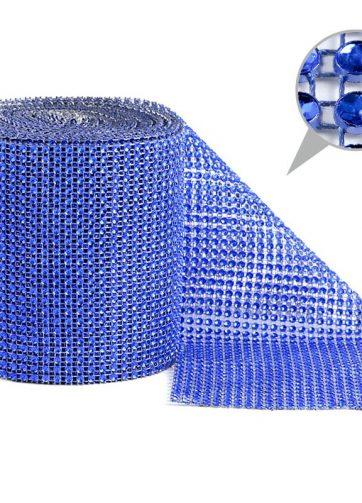 zamówienia hurtowe Taśma dekoracyjna 12 cm x 9m (niebieska) - 1 szt.