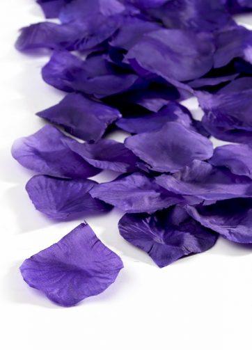 zamówienia hurtowe Płatki róż (fioletowe ciemne) - 100 szt.