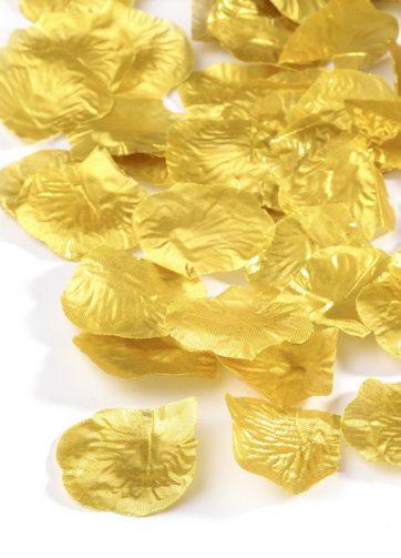 zamówienia hurtowe Płatki róż (złote) - 100 szt.