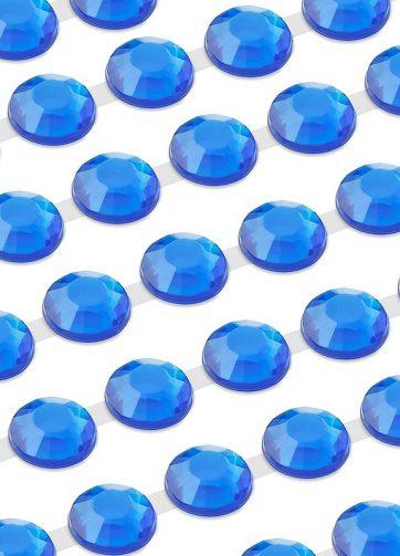 zamówienia hurtowe Dżety samoprzylepne połączone 6 mm (niebieski) - 300 szt.