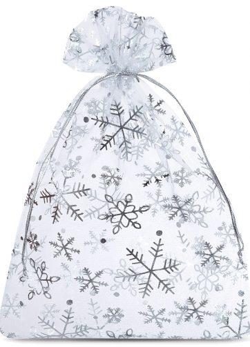 5 szt. Woreczki z organzy 26 x 35 cm - Boże Narodzenie / 2