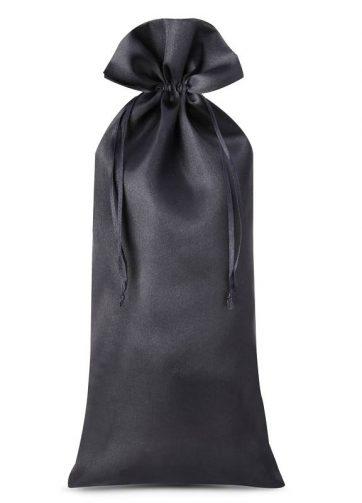 1 szt. Woreczek satynowy 16 x 37 cm - czarny
