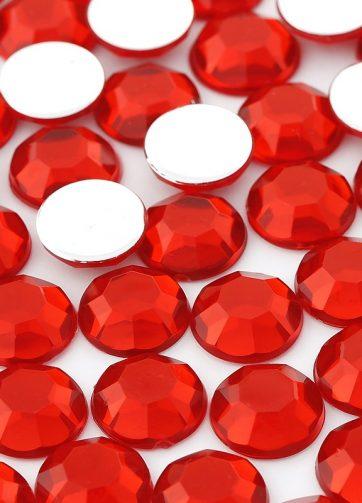 zamówienia hurtowe Dżety okrągłe 10 mm (czerwony) - 1000 szt.