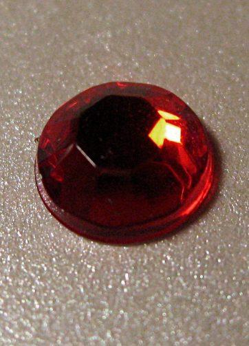 zamówienia hurtowe Cyrkonie okrągłe 6 mm (czerwony) - 100 szt.